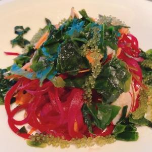 Seaweed & Root Vegetable Salad