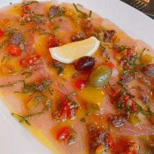 Sea Bass Ceviche (ปลากะพงขาวเซวิเช่)