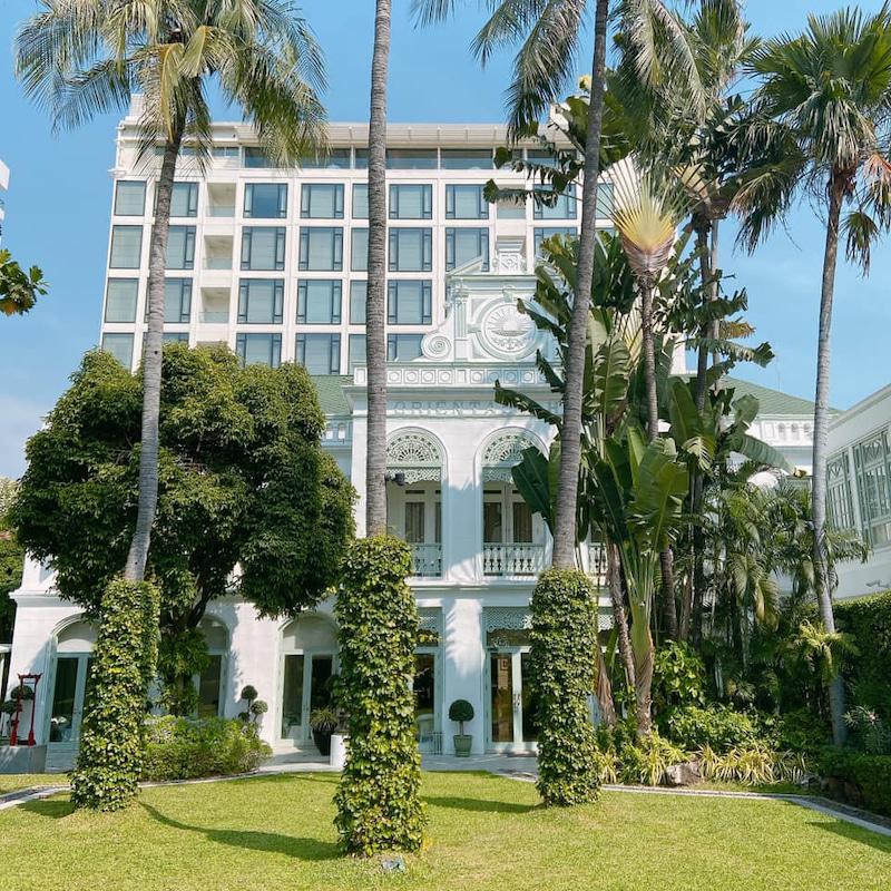 这次住宿的the Chao Playa Suite位于旧建筑