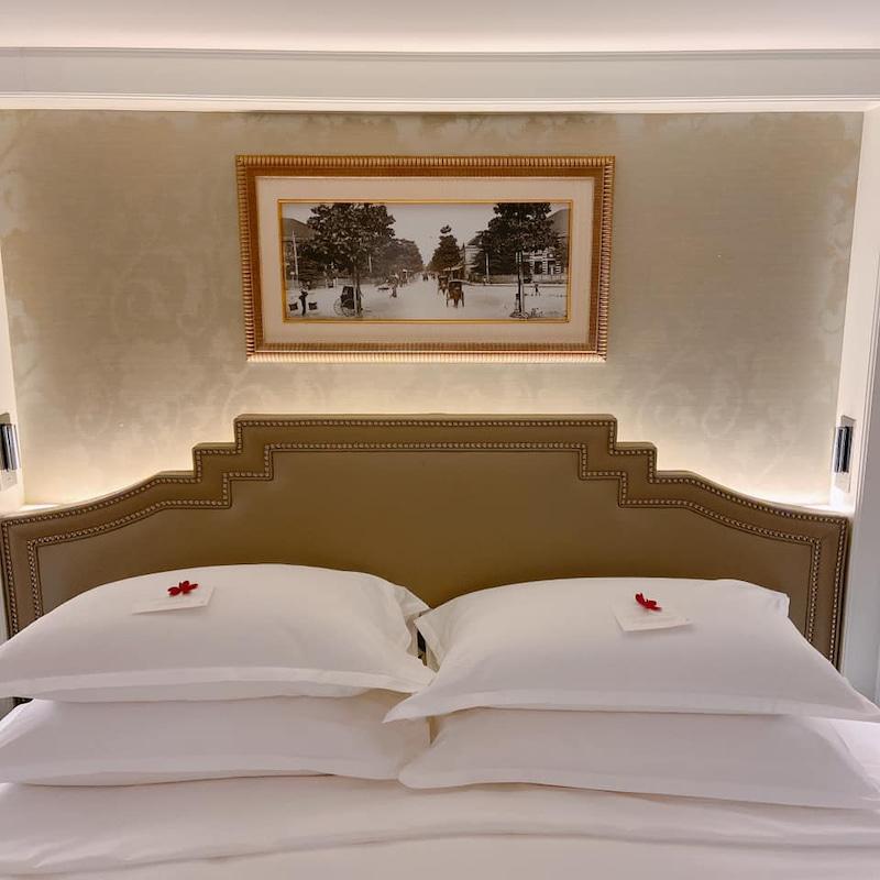 熨烫平整的寝具