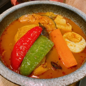 """My favorite """"HORO HORO chicken Soup Curry"""""""